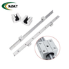 Customized length 12mm OD size SF12 linear guide motion shaft