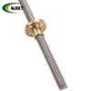 14mm Round Flange Brass Ball Nut Lead 3mm Lead Screws
