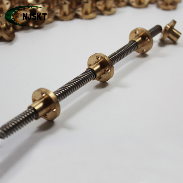 Custom-made 12mm Dia Threaded Rod Lead Screws