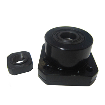 WBK Series Black Hard Lead Screw Support WBK 35DFF